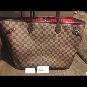 Louis Vuitton Neverful GM in Damier Ebene